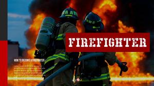 소방관 (Firefighter) 프레젠테이션 ppt