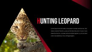 Leopard (표범) 파워포인트 템플릿