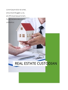 Real estate 부동산 세로형 template
