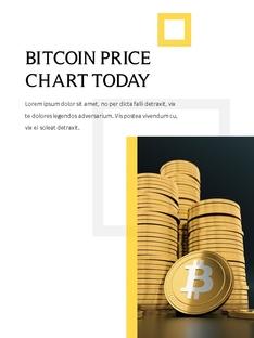 비트코인 Bitcoin 세로형  ppt template