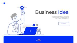 Business Idea Pitch Deck 템플릿