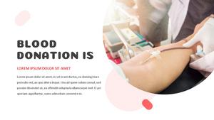 Blood Donation (헌혈) 프레젠테이션 템플릿