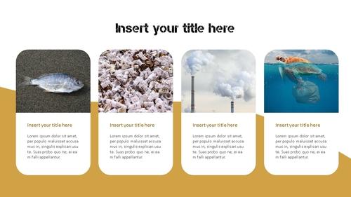 Marine Pollution 해양 오염 ppt 템플릿 - 섬네일 5page