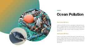 Marine Pollution 해양 오염 ppt 템플릿 #6