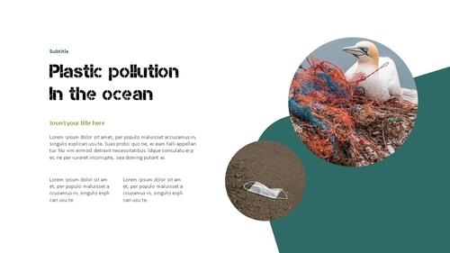 Marine Pollution 해양 오염 ppt 템플릿 - 섬네일 7page
