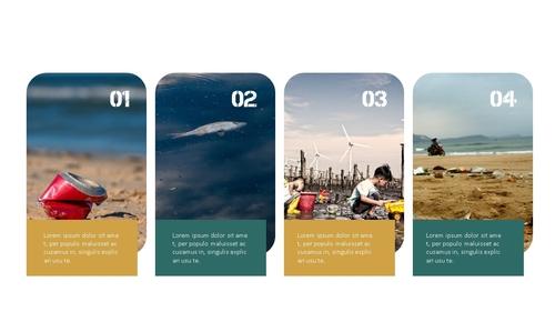 Marine Pollution 해양 오염 ppt 템플릿 - 섬네일 8page
