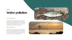 Marine Pollution 해양 오염 ppt 템플릿 #9