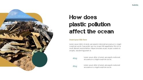 Marine Pollution 해양 오염 ppt 템플릿 - 섬네일 11page