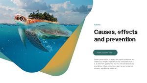 Marine Pollution 해양 오염 ppt 템플릿 #13