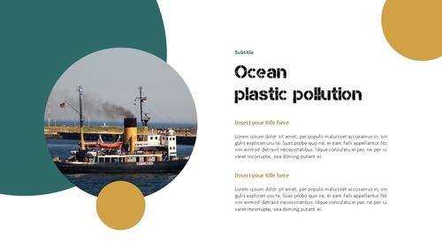 Marine Pollution 해양 오염 ppt 템플릿 - 섬네일 15page