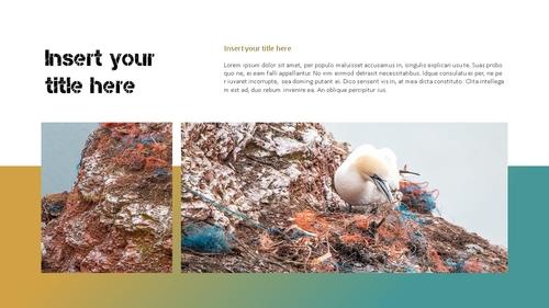 Marine Pollution 해양 오염 ppt 템플릿 - 섬네일 16page