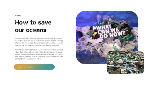 Marine Pollution 해양 오염 ppt 템플릿 - 섬네일 17page