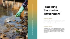 Marine Pollution 해양 오염 ppt 템플릿 #18