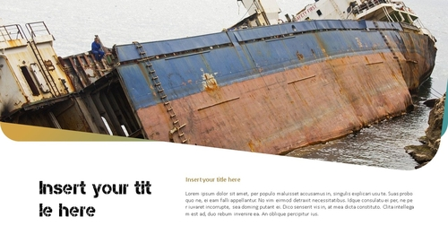 Marine Pollution 해양 오염 ppt 템플릿 - 섬네일 19page