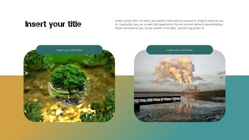 Marine Pollution 해양 오염 ppt 템플릿 - 섬네일 20page