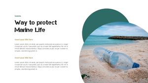 Marine Pollution 해양 오염 ppt 템플릿 #23