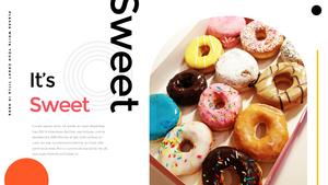 Donuts (도넛) 파워포인트 PPT
