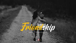 Friendship (우정) ppt 템플릿