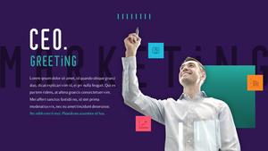 디지털 마케팅 (Digital Marketing) 피피티템플릿