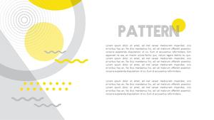 기하학 패턴 (Pattern) 파워포인트 배경