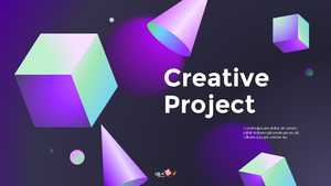 Creative Project 피치덱 템플릿