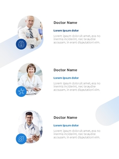 Medical Report (의학 리포트) 세로형 템플릿