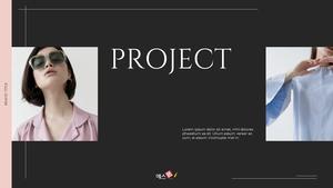 브랜드 프로젝트 전략 Pitch Deck 템플릿