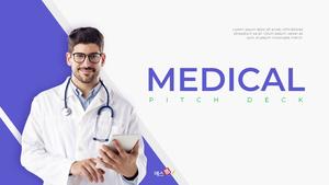Medical (의학) 피치덱 template