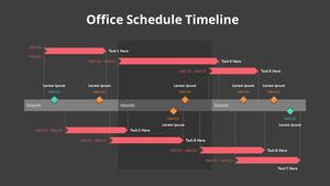 Office Schedule (오피스 스케쥴) Timeline