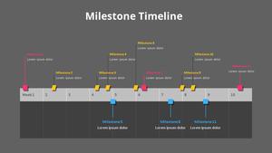 마일스톤 타임라인 (Milestone Timeline)