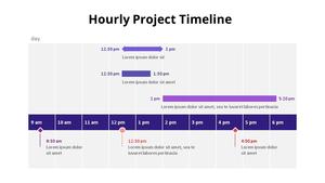 시간별 프로젝트 관리 Timeline