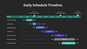 Daily Schedule 데일리 스케쥴 타임라인