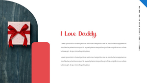 아버지의 날 (Fathers Day) 프레젠테이션 ppt #7