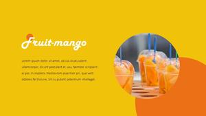 Mango (망고) ppt template