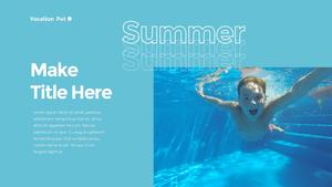 Summer Vacation (휴가) 파워포인트 템플릿