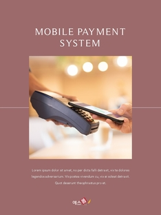 Mobile Payment System (모바일 결제) 세로형