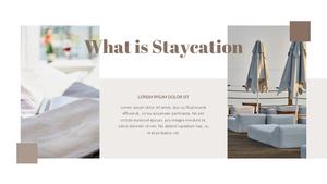 Staycation 호캉스 ppt Template