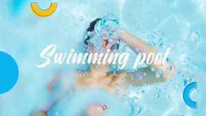 Swimming Pool (수영장) template