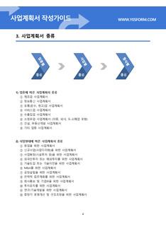 사업계획서 작성가이드 #5