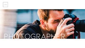 Photographer (포토그래퍼) PPT 템플릿