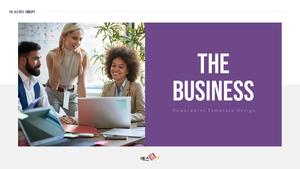 The Business 사업 템플릿 PPT 16:9