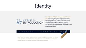 병원 소개 (Hospital introduction) ppt 템플릿