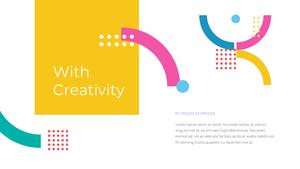 창의적 디자인 비즈니스 템플릿 #14