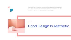 창의적 디자인 비즈니스 템플릿 #23