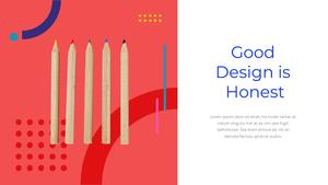 창의적 디자인 비즈니스 템플릿 #24