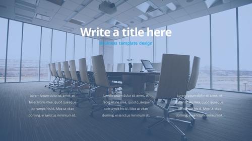 Success Business (성공적인 비즈니스) 템플릿 - 섬네일 6page