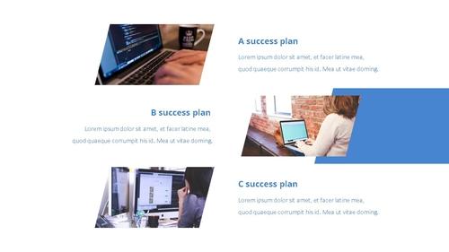 Success Business (성공적인 비즈니스) 템플릿 - 섬네일 17page