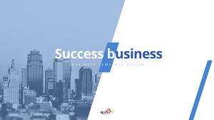Success Business (성공적인 비즈니스) 템플릿 #1
