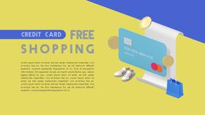 신용카드 (금융) PPT 표지
