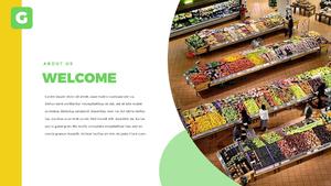 마트, 슈퍼마켓 파워포인트 템플릿